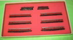 Con-cor N Scale Gulf, Mobile And Ohio Passenger Set Limited Edition 8404