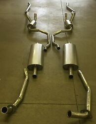 1958 Edsel Ranger And Pacer Hardtop Dual Exhaust Aluminized With Resonators