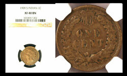 1909-s 1c Indian Xf40bn Ngc-key Date-mintage Of 309000 Indian Head Cent