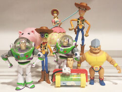 Toys R Us Exclusive Toy Story 8 Pc. Figure Set 2009 Ultra Rare Rocky Gibraltar