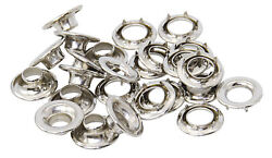 Marine Instruments Allen Prong Eyelets Nickel-plated No 6 19mm
