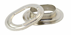 Marine Instruments Oval Eyelet 225 X 13mm Brass Nickel-plated Pack Of 10