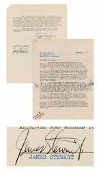 James Stewart Signed Contract To Appear On 1951 Radio