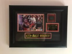 Nascar Jeff Gordon 24 Framed Race-used Tire Limited 189/324 Mounted Memories