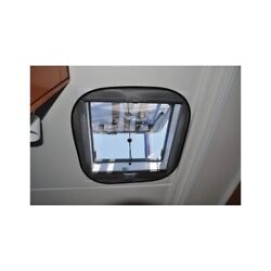 Marine Boat Mosquito Net For Window 230 X 490mm Pu 2 Pieces