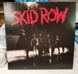 2013 Skid Row Self Titled Debut Lp - Relayer Friday Music [red Audiophile] Nm