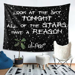 Lil Look At The Sky Peep Hippie Tapestry Wall Hanging Dorm Room Home Decor