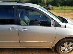 Passenger Front Door Electric Windows Without Privacy Fits 04-10 Sienna Oem