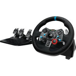 Logitech G29 Dual-motor Driving Force Racing Wheel For Ps5 Ps4 Ps3 Pc
