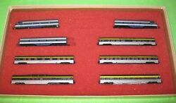 Con-cor N Scale Chesapeake And Ohio Passenger Set Limited Edition Set 4307