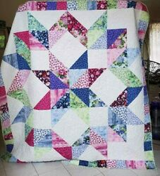 Longarm Quilt Services All Sizes Available. Fast Turnaround.