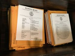 Penny-wise Journal 2001-2018 Early American Coppers Issues 202-293