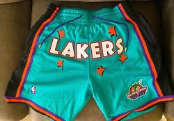 Lakers Just Don 1995 Rookie Game Size Large