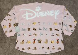 2021 Disney Store Parks Dogs Spirit Jersey Pink Adult M Medium New Sold Out