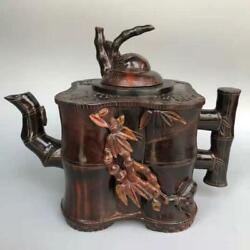 Chinese Ox Horns Handmade Exquisite Teapots 4538