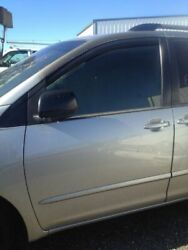04 05 06 07 08 09 10 Toyota Sienna Left Front Door Power Privacy Glass Silver