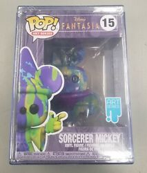Disney Sorcerer Mickey Art Series One Of A Kind Factory Sealed Upside Down