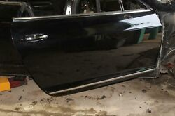 Note04-10 Continental Gt Gtc 2dr Black Painted Passenger Front Door Shell Oem