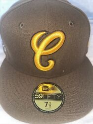 7 5/8 Chicago White Sox Brown Comiskey Park Camo Bottom Fitted Hat