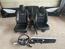 2012 Camaro Ss Convertible 45th Anniversary Leather Seats W/ Panels And Console