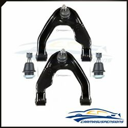 Fits Nissan Frontier Xterra 4pieces New Upper Control Arms And Lower Ball Joints