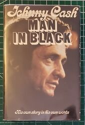 Man In Black By Johnny Cash Signed His Own Story In His Own Words 1st Edition