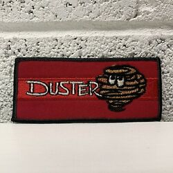 Vintage Nos Rare Plymouth Duster Embroidered Patch Automobilia