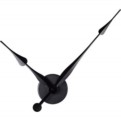 Hicarer DIY Large Clock Hands 3D Wall Clock for Kitchen Office and Home Art