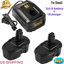 Dc9310 Charger And 2pack Dc9096 Battery For Dewalt 18v Xrp Cordless Drill Dc9098