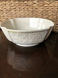 Bordeaux Collection By Lenox - Footed Centerpiece Bowl - Discontinued Pattern
