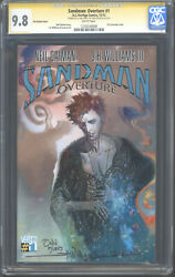Sandman Overture 1 Cgc Ss 9.8 X2 Todd Klein And Jh Willimans Iii 3d Variant Rare