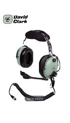 David Clark 40696g-01 Low Impedance Anr Headset With Adaptor - New In Box