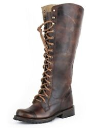 Stetson Fashion Boots Womens Winter Brown 12-021-7107-1402 Br