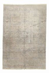 Genuine 5'9 X 8'8 Hand-knotted Bamboo Silk Area Rug Area Rug Carpet
