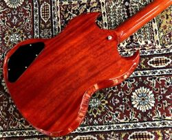 Gibson Sg Standard And03961 Sideways Vibrola 2019 Electric Guitar Vintage Cherry