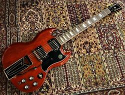 Gibson Sg Standard And03961 Sideways Vibrola 2019 Vintage Ships Safely From Japan