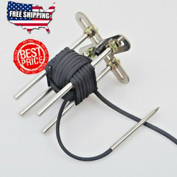 Paracord Monkey Fist Jig With Adjustable Woven Tool Keychain Needle Survival Kit