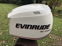 Evinrude Etec 2005-08 Hood Cowling Engine Cover 200 225 250 300 Hp
