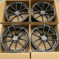 22 New Black Style Forged Wheels Rims Fits For Porsche Cayenne 22x10 22x11.5