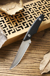 7.25 Japan Hippo Custom Hand Forged Hunting Camping Knife 440c Blade G10 Handle