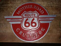 Mother Road Cruisers Car Club Plaque Springfield Mo.