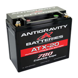 Antigravity Xps Extreme Power Lithium Battery Atx-20r 780ca Right Neg