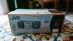New Jvc Ex-d1 Dvd Audio Video Wood Cone Speakers Stereo Receiver Compact
