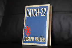 Catch-22 1st Edition 1st Printing Flat Signed By Joseph Heller