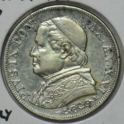 Vatican 1867 Papal States Lira Italy 296917 Combine Shipping