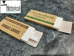 American Ww2 K Ration Cigarettes - Chesterfield / Lucky Strike Reproduction Pack