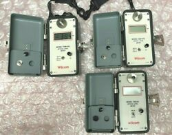 Wilcom Optical Level Meters 2 T339-01b And 1 T339-02