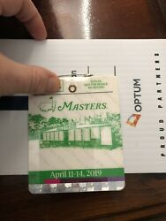 2019 Masters Badge - Augusta National Golf Club - Tiger Woods Wins 5th Masters.