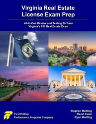 Virginia Real Estate License Exam Prep All-in-one Review And Testing To Pa...