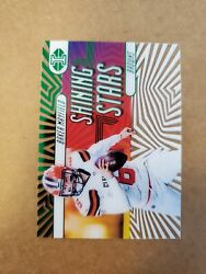 2019 Illusions Shining Stars Green D /149 Baker Mayfield Sp 16 Acetate Browns